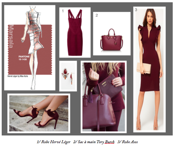 Fashion Inspirations - Marsala