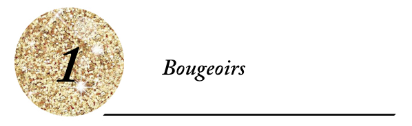 Titre Bougeoirs
