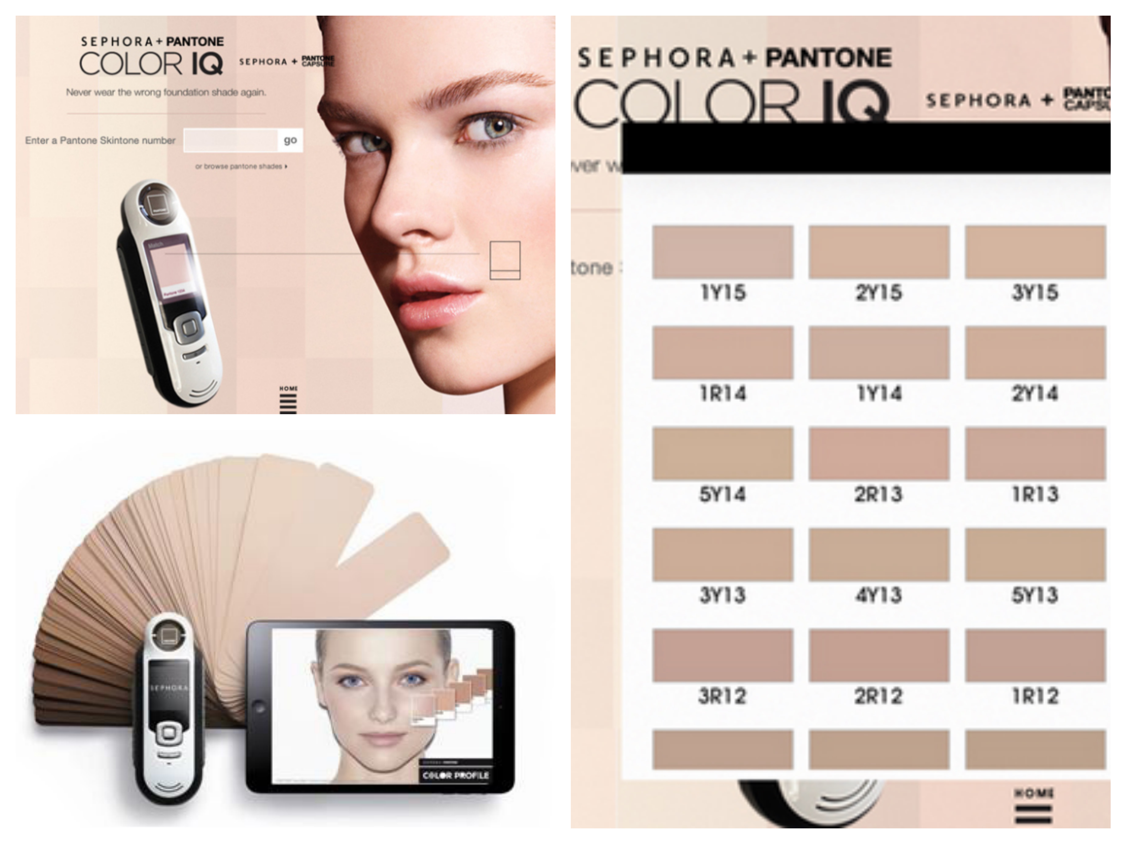 Color profile - Sephore + Pantone
