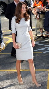 Kate Middleton - Gray Dress