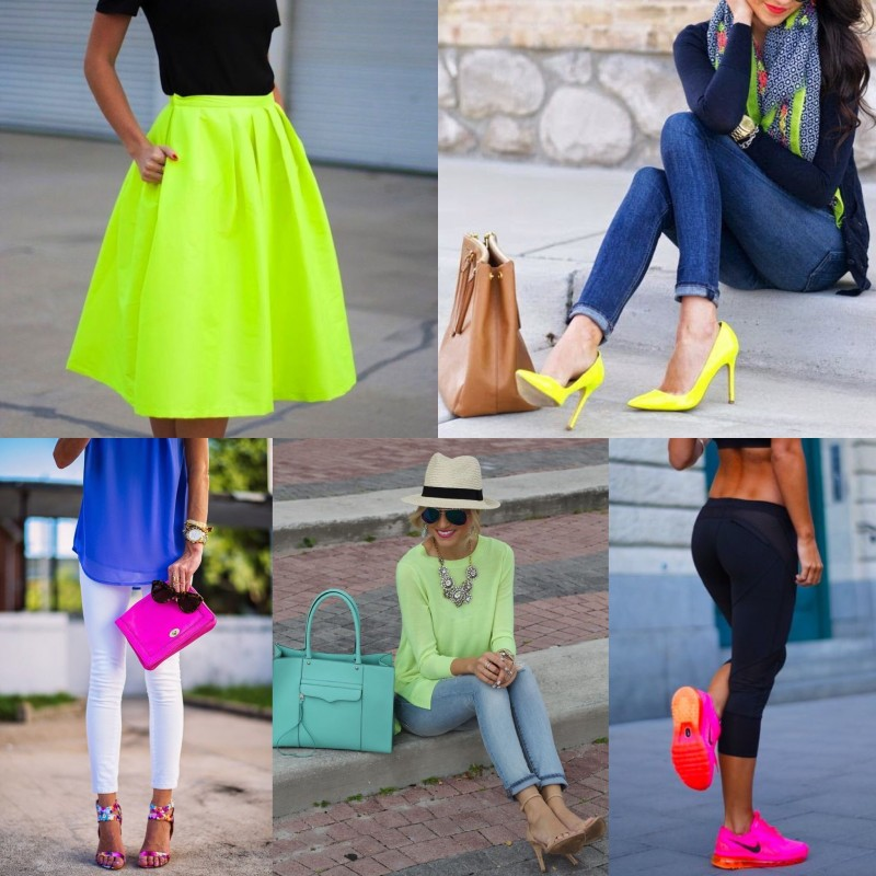 Color crush - The neon trend
