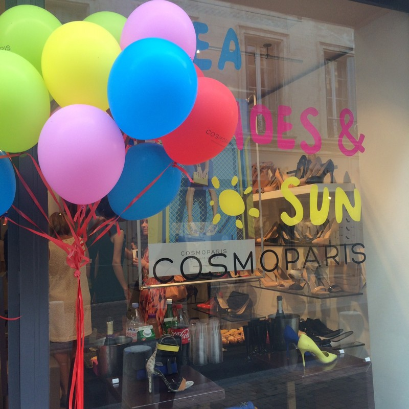 Inauguration de la boutique Cosmoparis d'Avignon