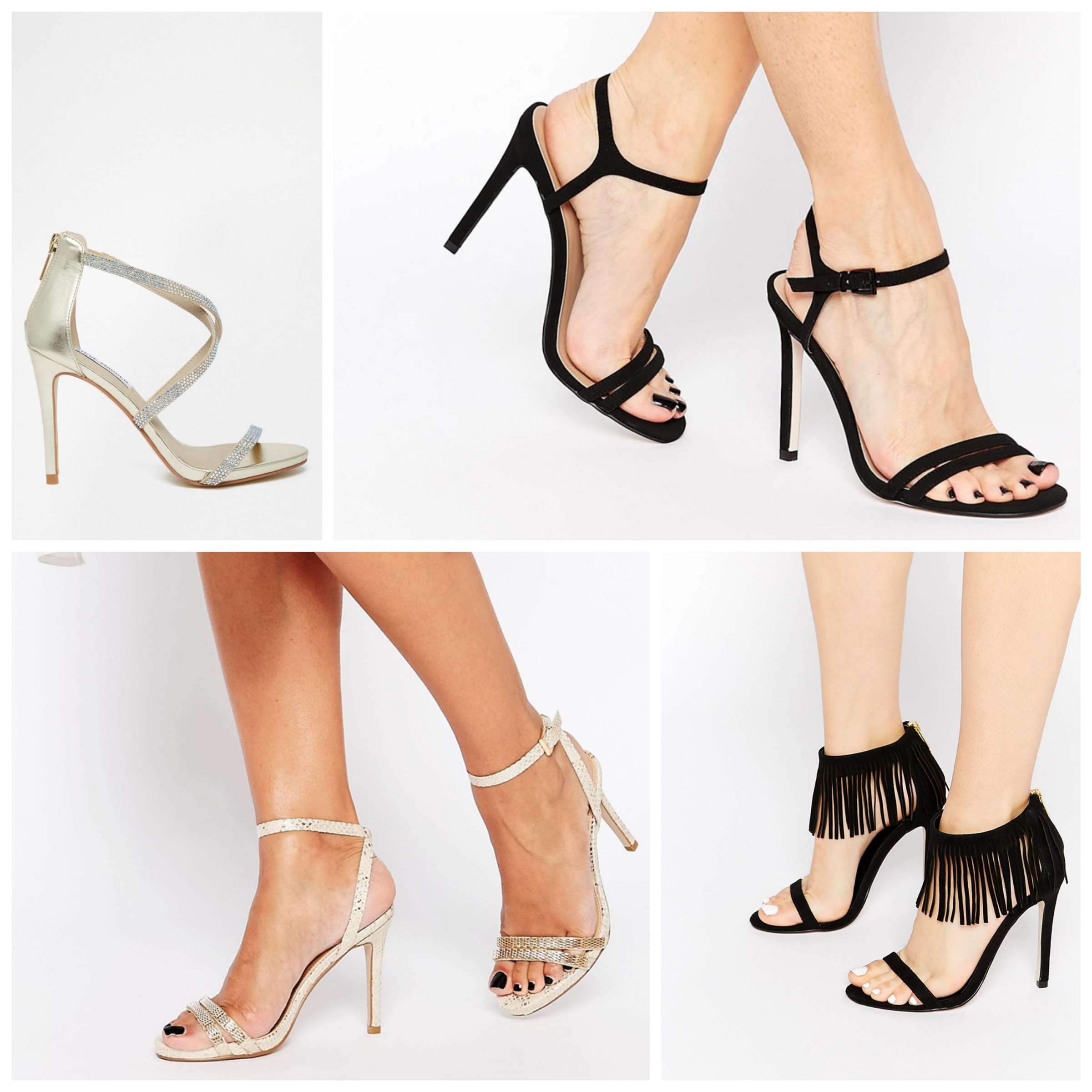 Affordable Copycats of Nudist & Lovefringe Sandals