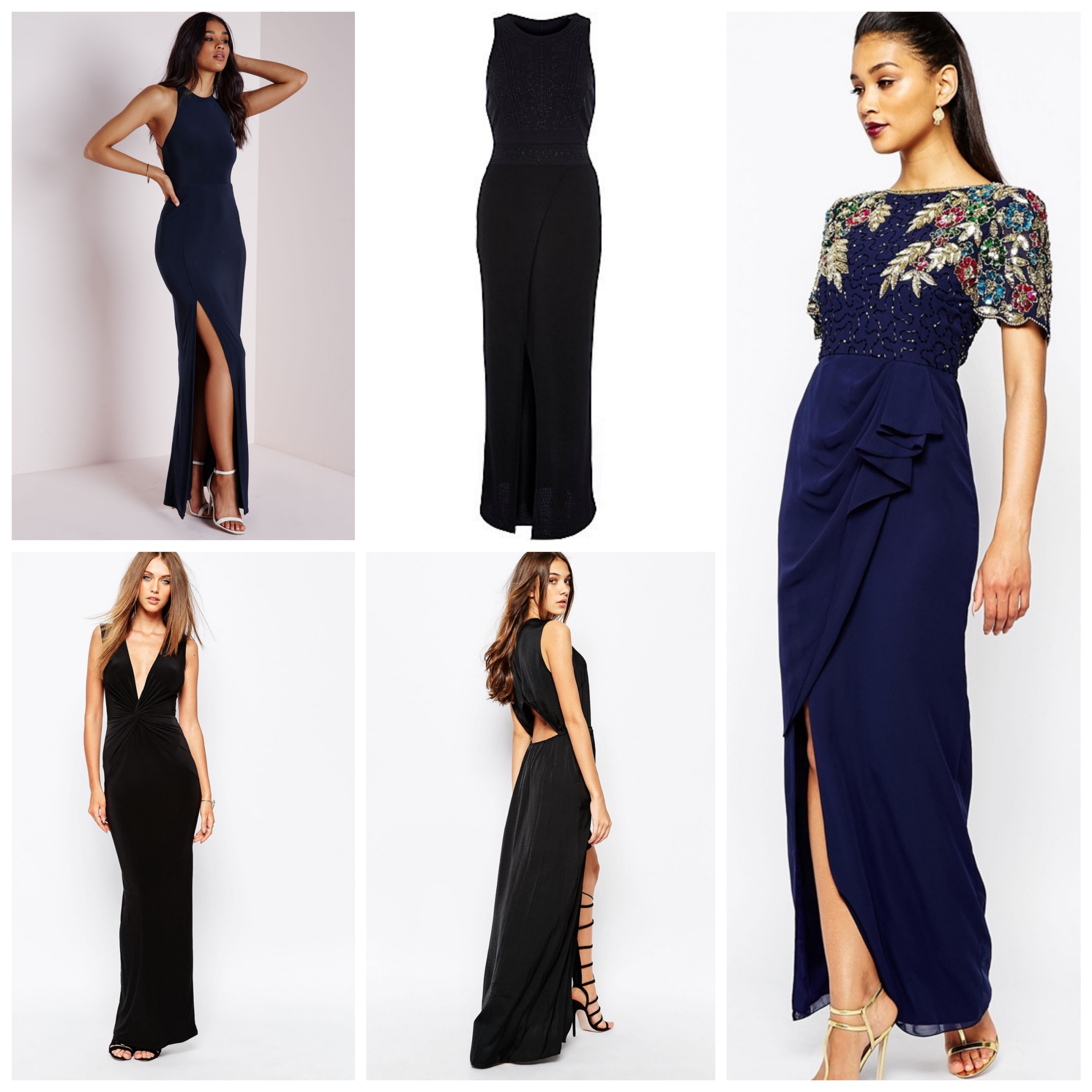 Dark Shades Maxi Dresses