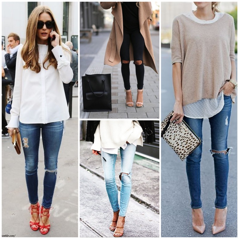Fall trend - The ripped jeans