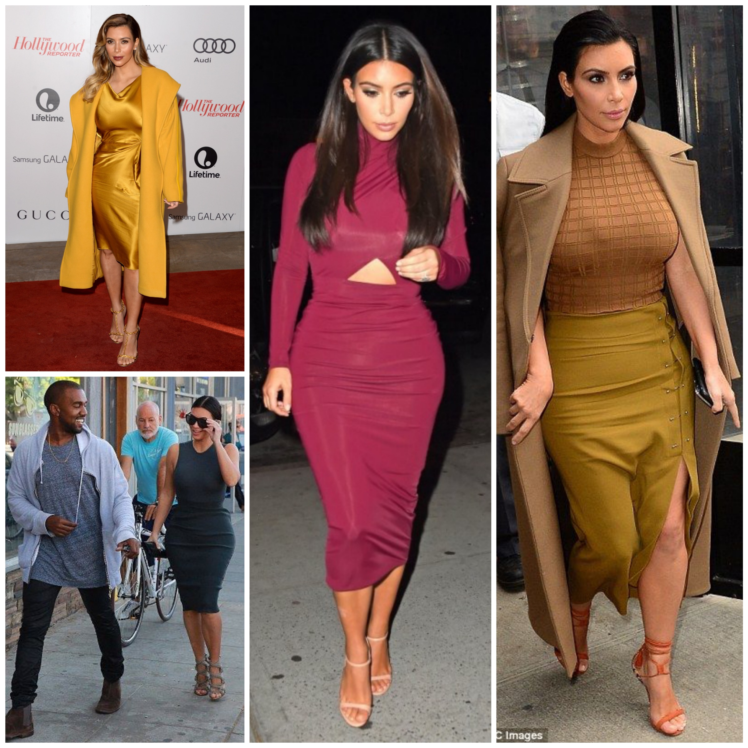 Kim's style after Kanye - Wearing skin-tight outfits in a classy way