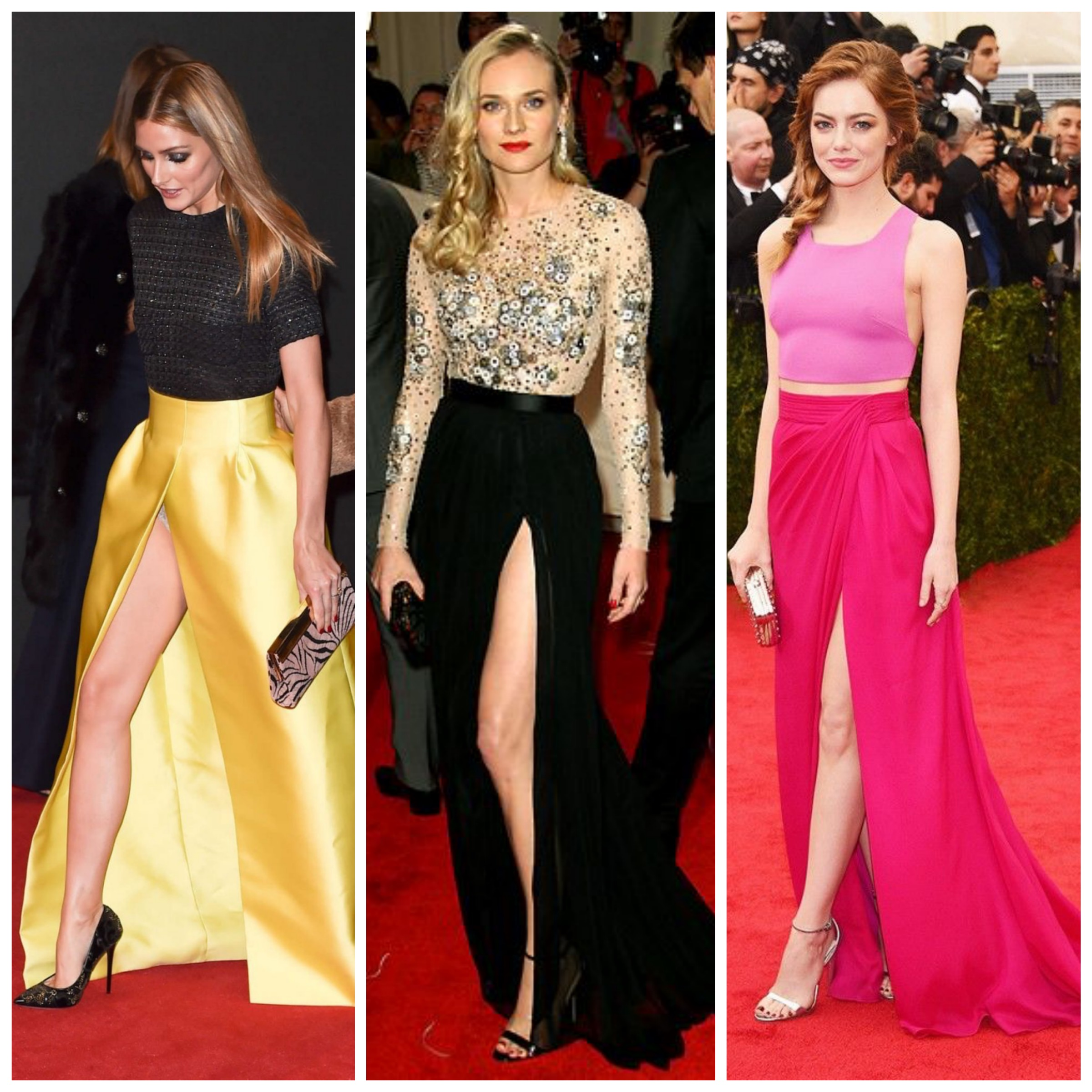 Maxi Skirts on Red Carpet