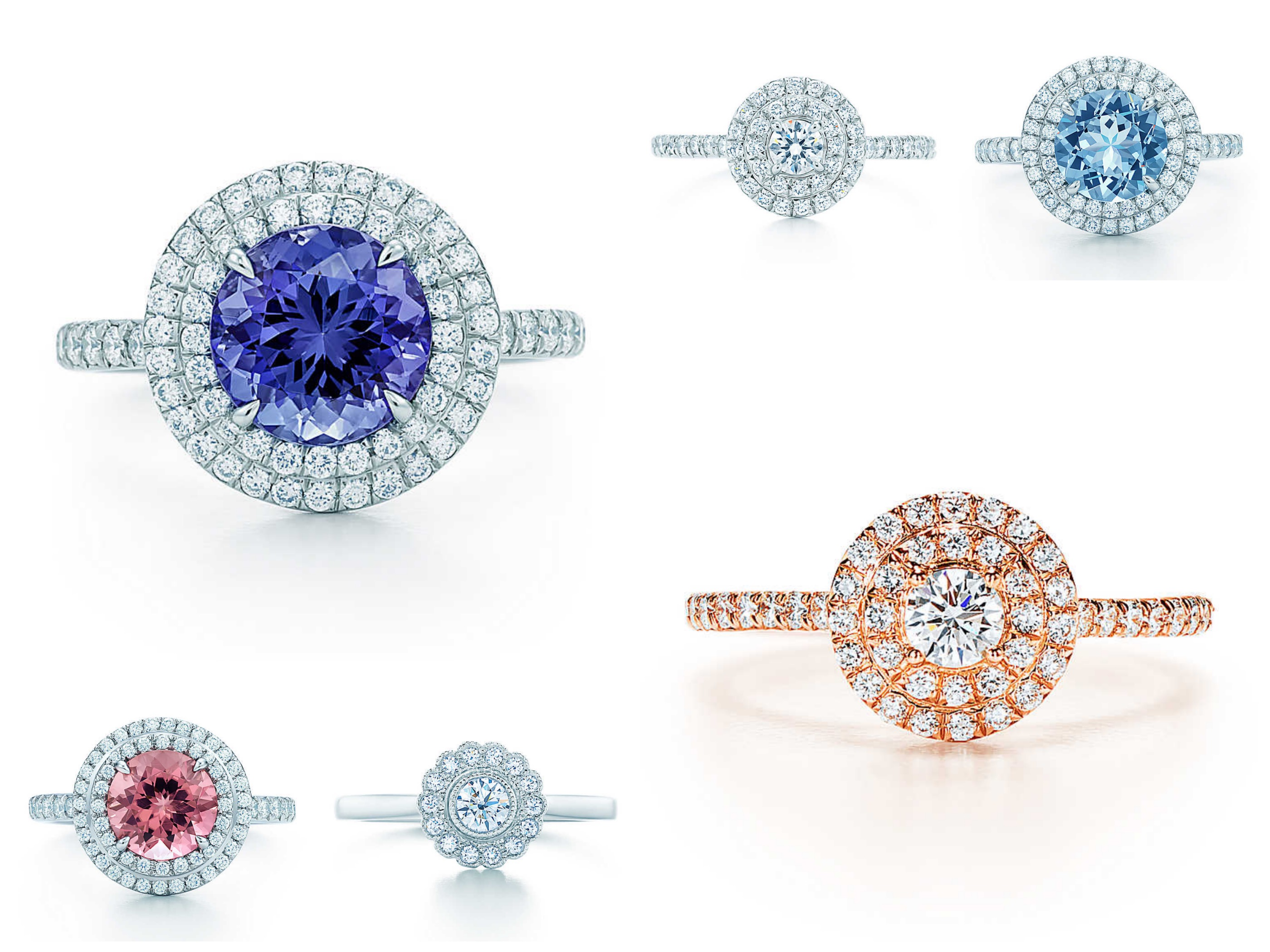 Round Shape Engagement Rings