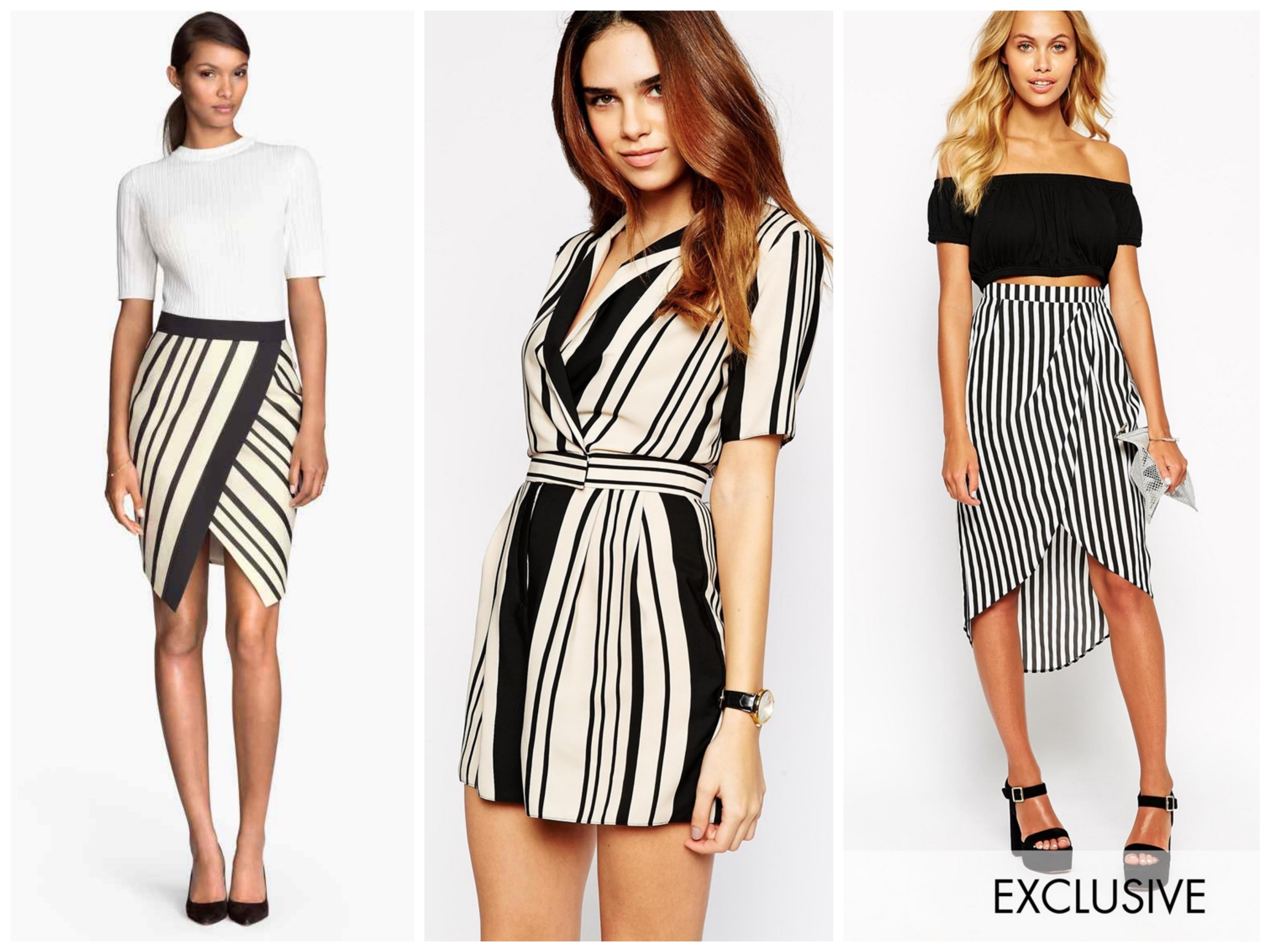 Stripped skirts & Jumpsuit
