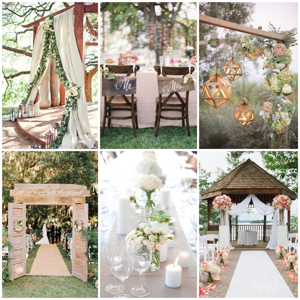 Wedding inspirations - The reception