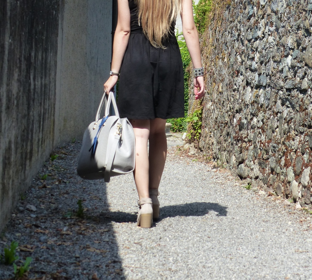 Bottines Bershka & Sac H&M