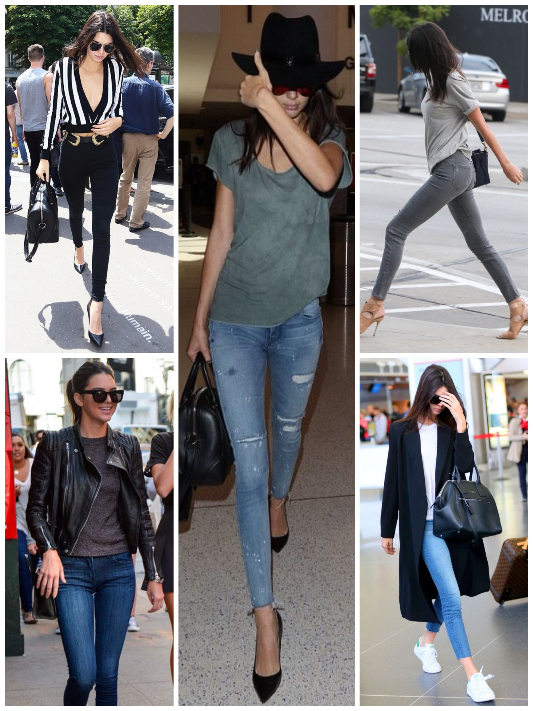 Casual with jeans - Kendall Jenner