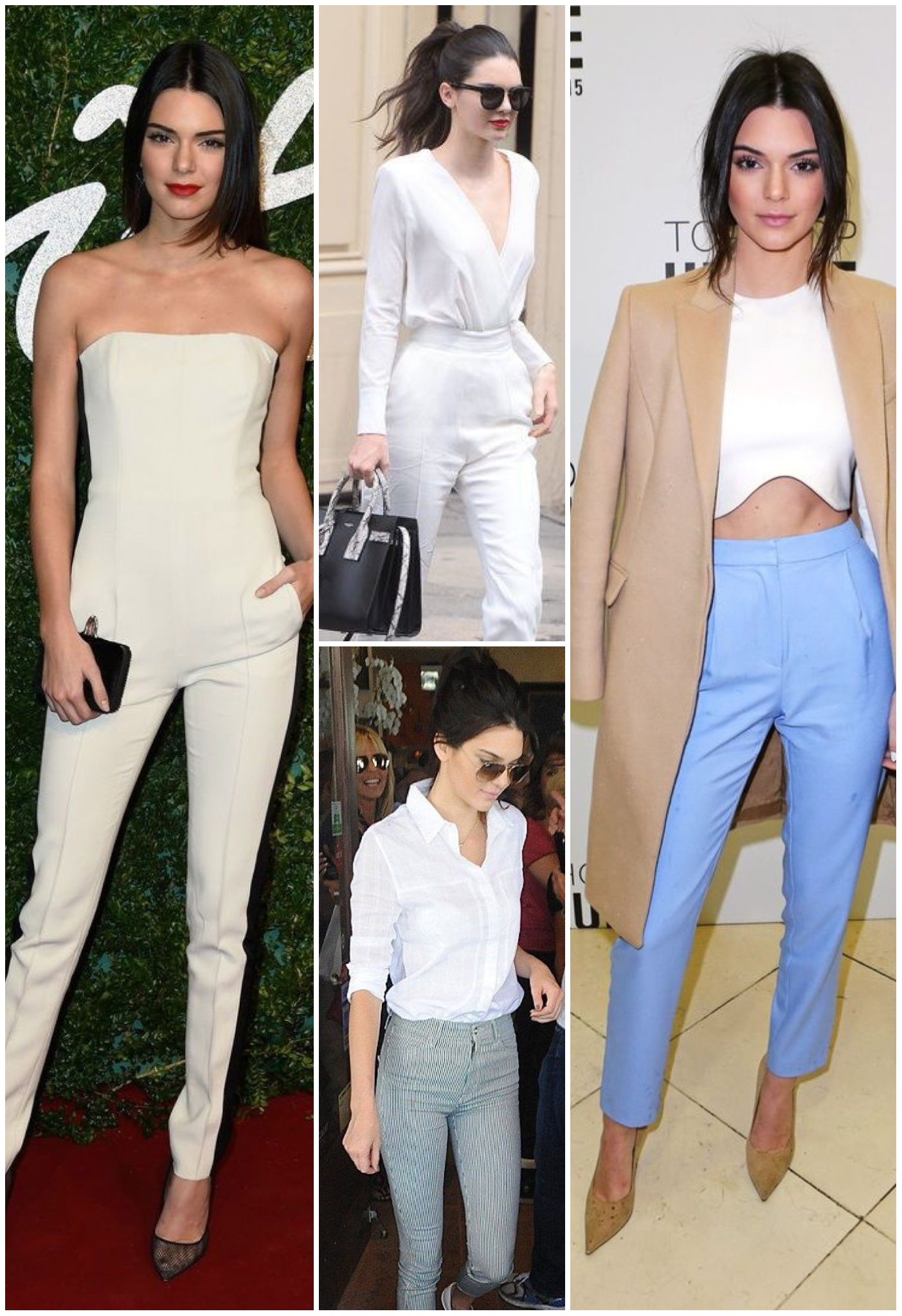 Chic with pants - Kendall Jenner