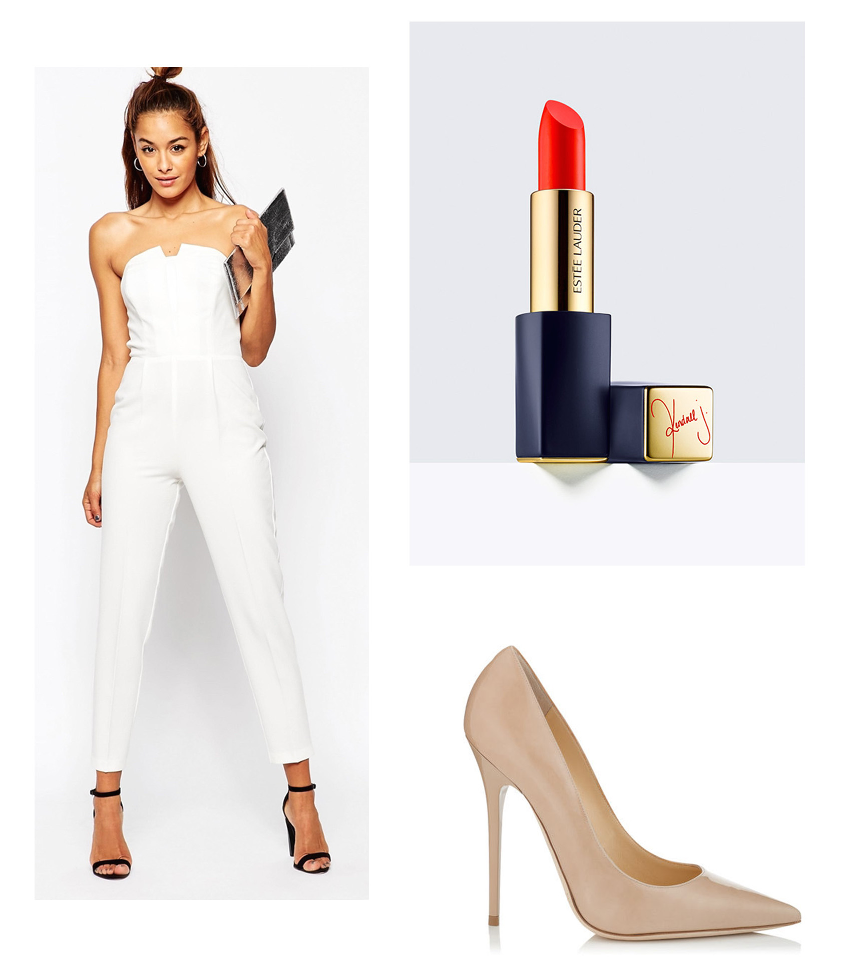How to steal Kendall's style - The white jumpsuit
