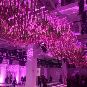 3000 Tulips for the Lela Rose S:S16 Show