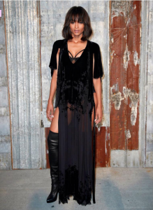 Ciara at the Givenchy Spring Summer 2016 Show in New York