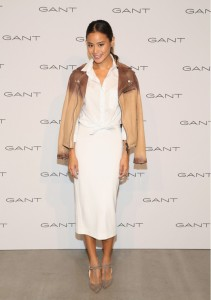 Jamie Chung at the Gant S/S16 Prensentation