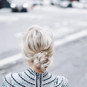 Mary Seng Knotted Updo - NYFW