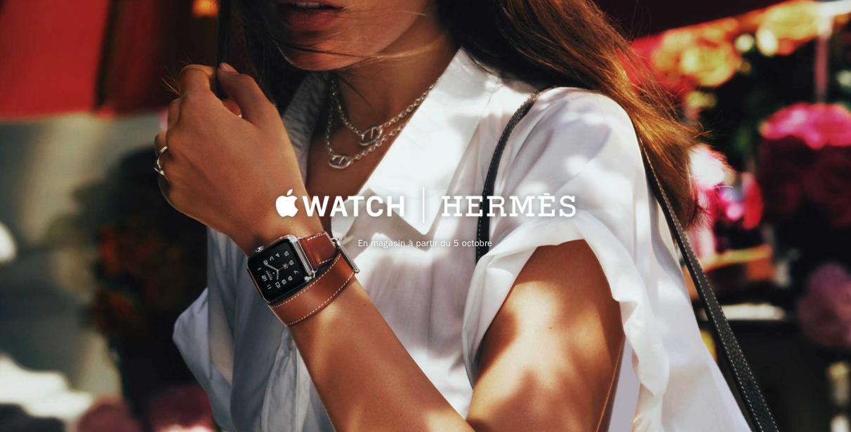 Montre Hermès x Apple disponible le 5 octobre