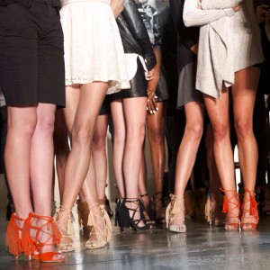 Shoes & Legs at the Marissa Webb Show