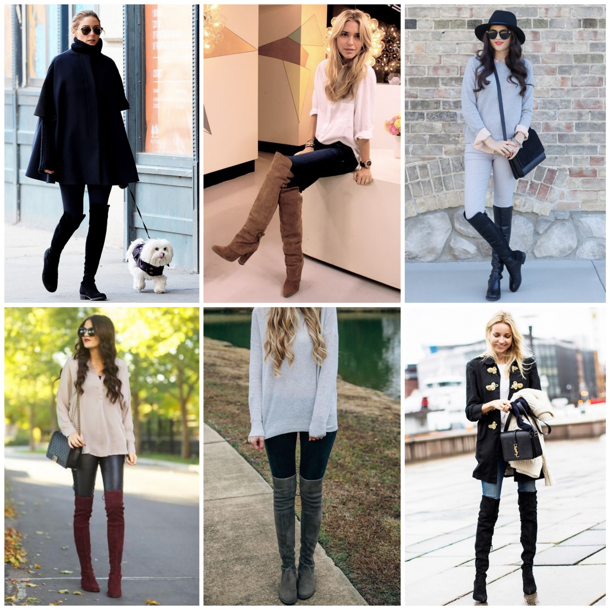 Wear over the knee boots with your favorite pants