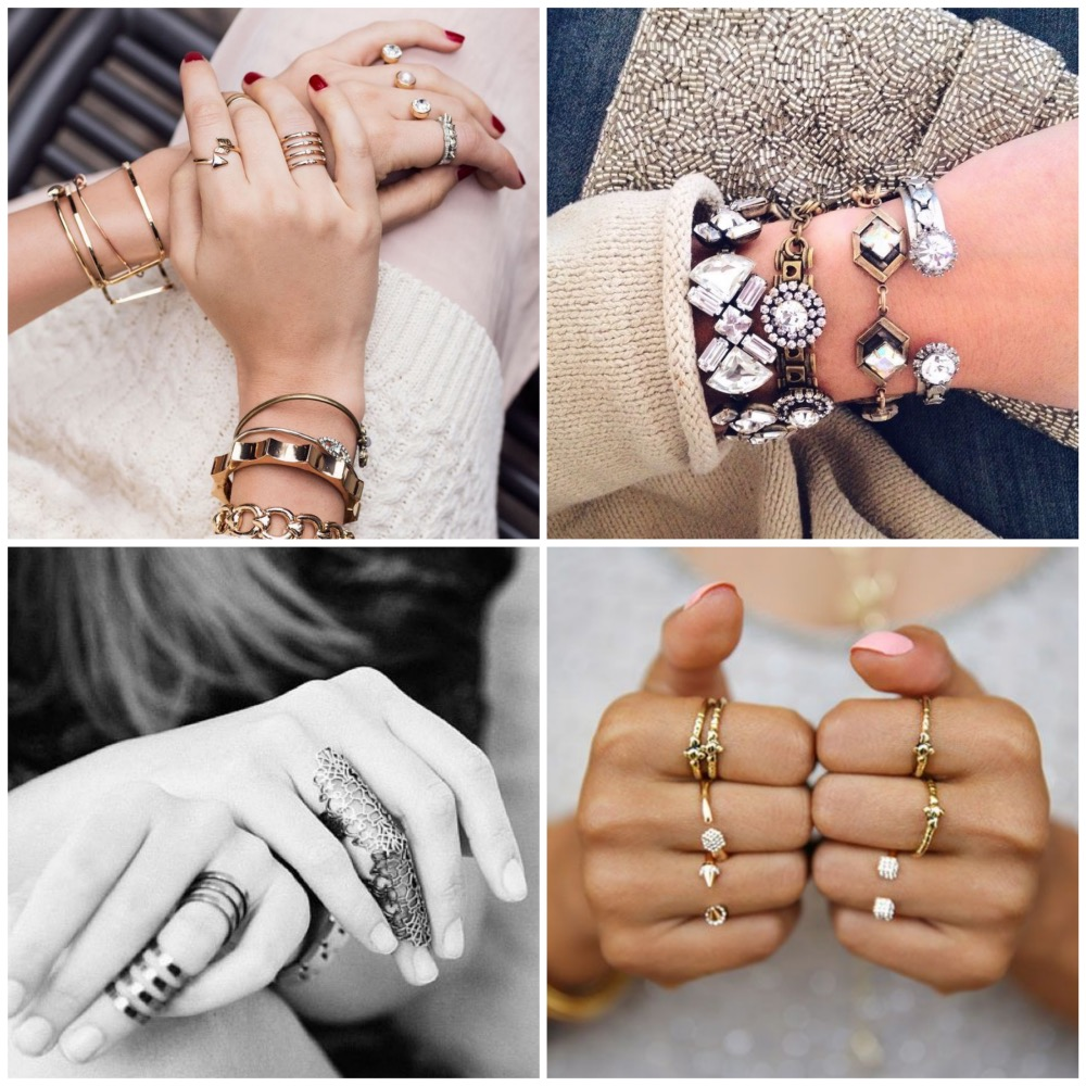 2016 Big trend - Stacking your jewelry