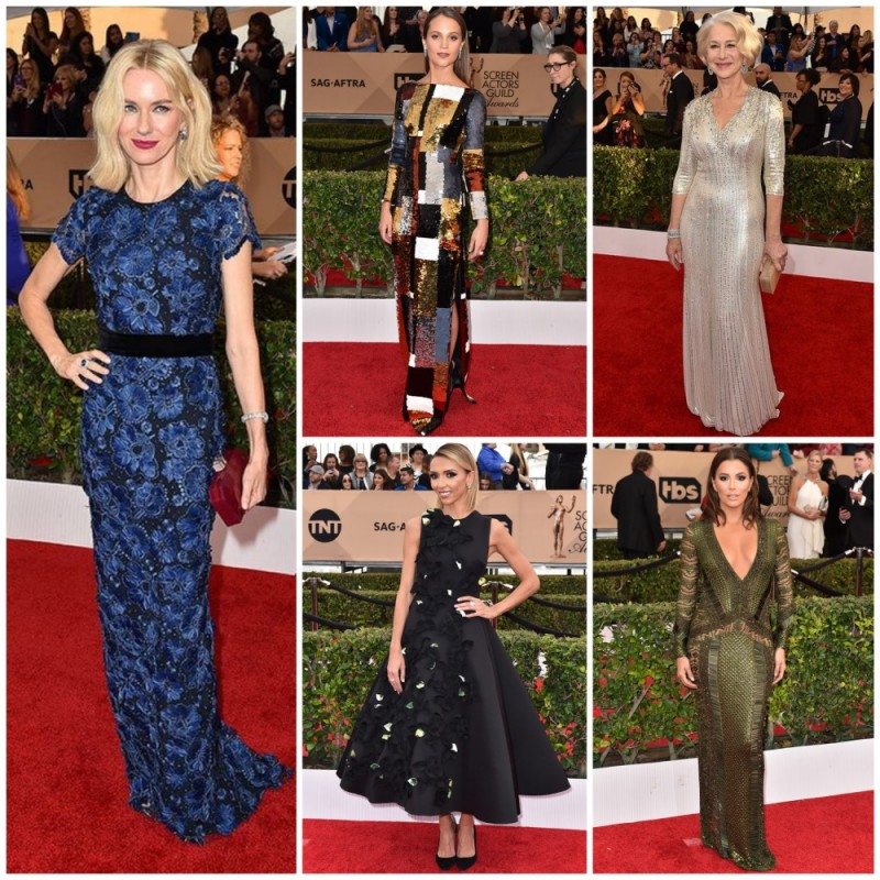Best dressed list from the 2016 SAG Awards