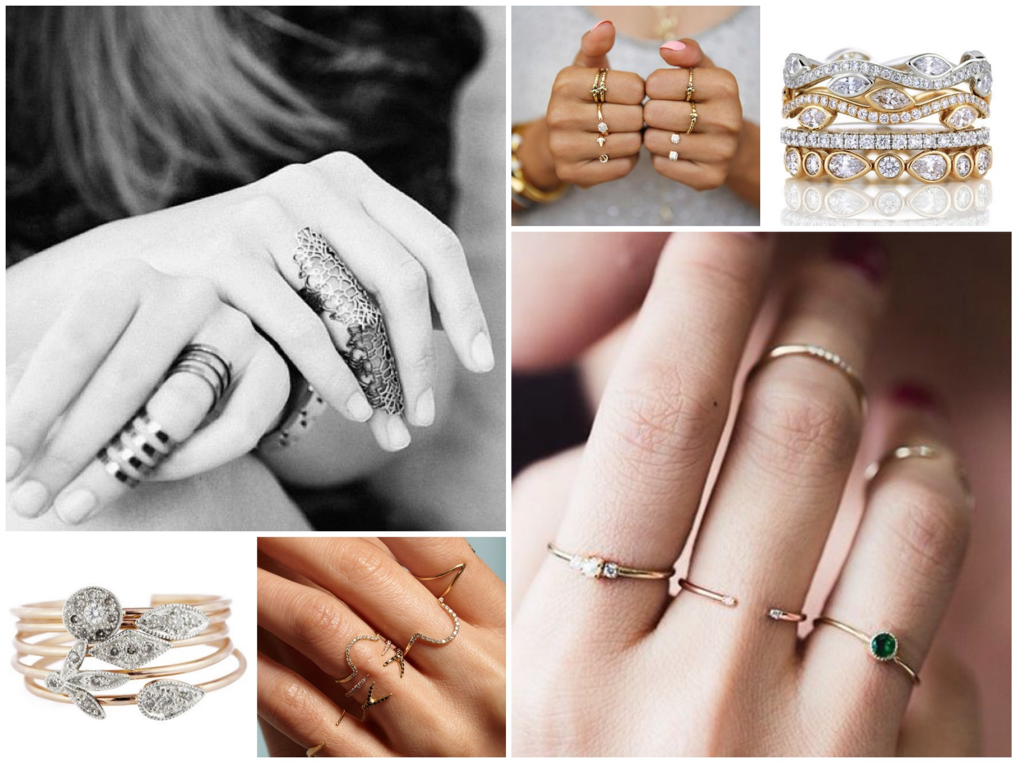 How to Stack Rings