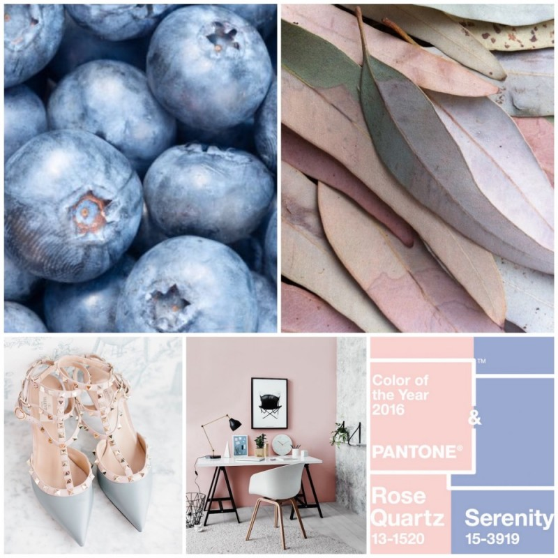 Rose Quartz & Serenity - 2016 Pantone Colors of the Year