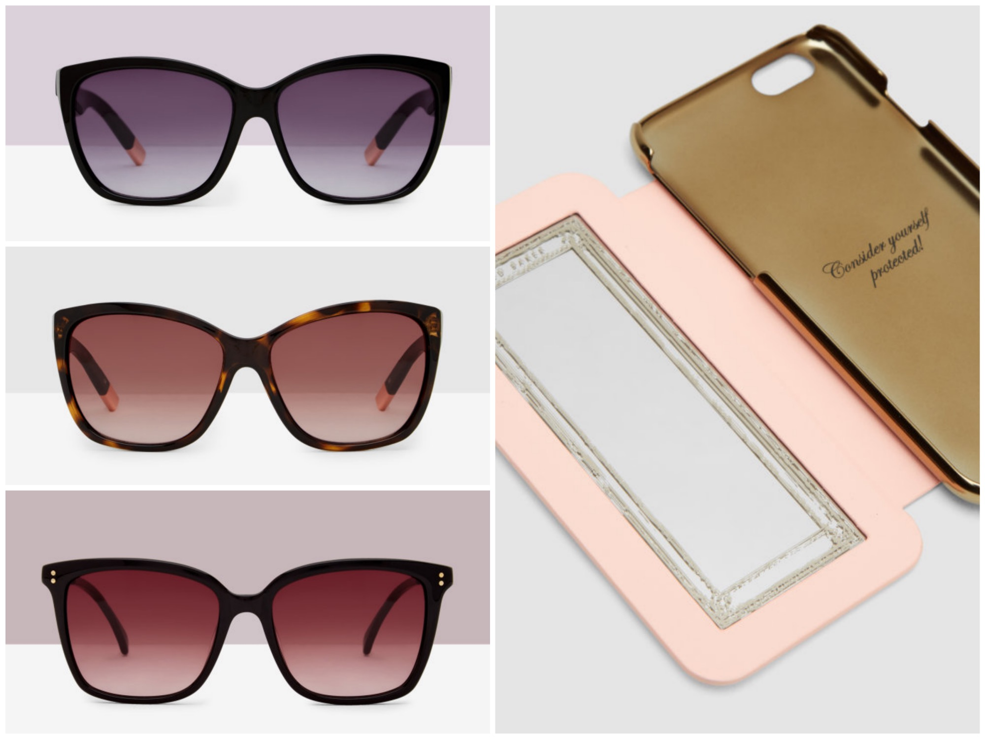 Sunglasses & iPhone case - Ted Baker