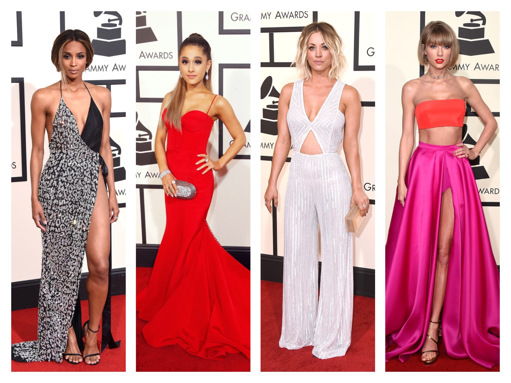 2016 GRAMMYS Best Dressed List - Taylor Swift & Ciara