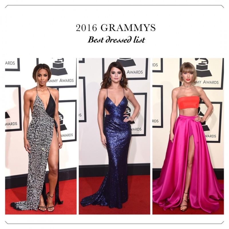 Best dressed list from the 2016 GRAMMY Awards