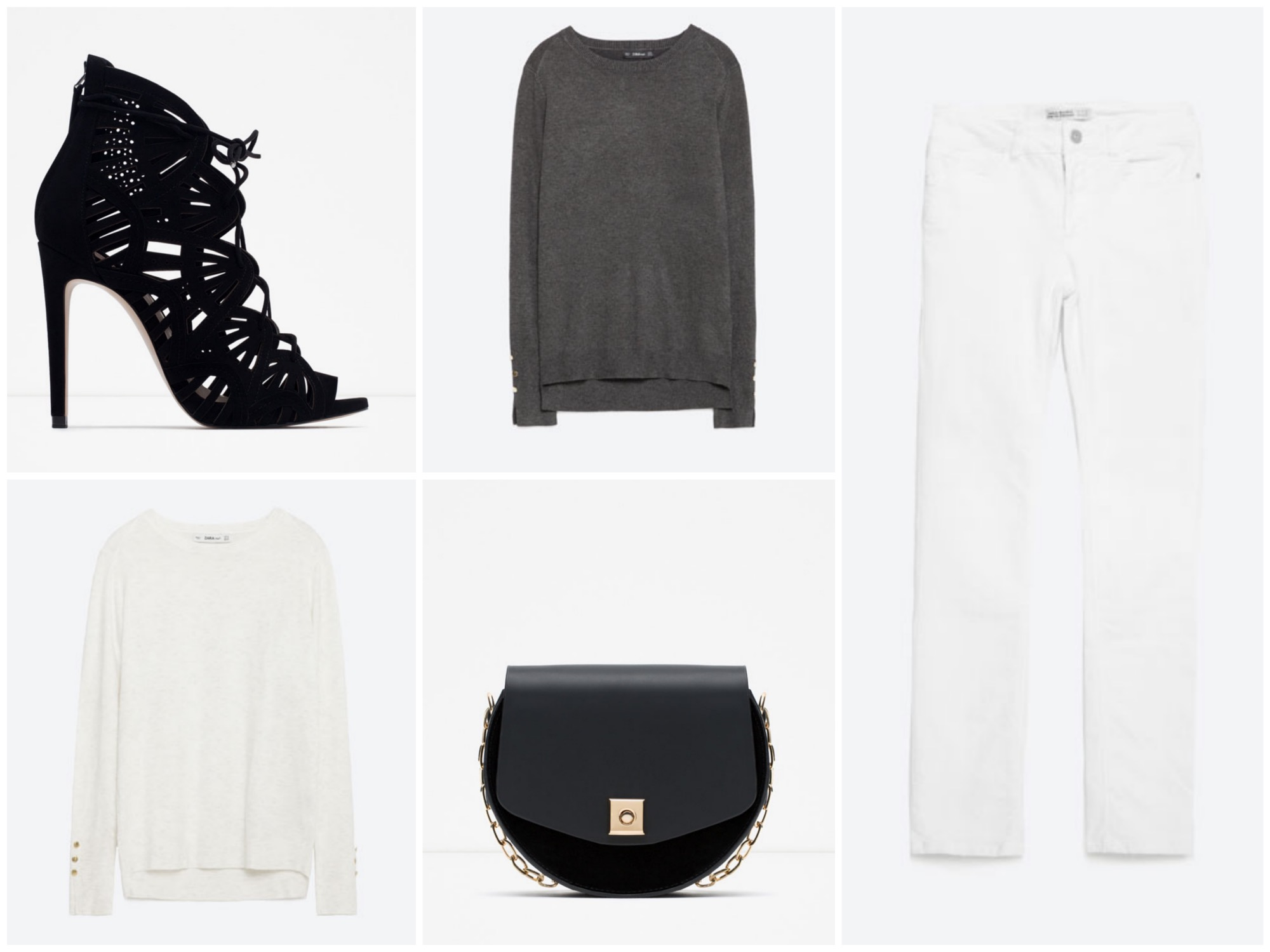 Black & white outfit - Zara