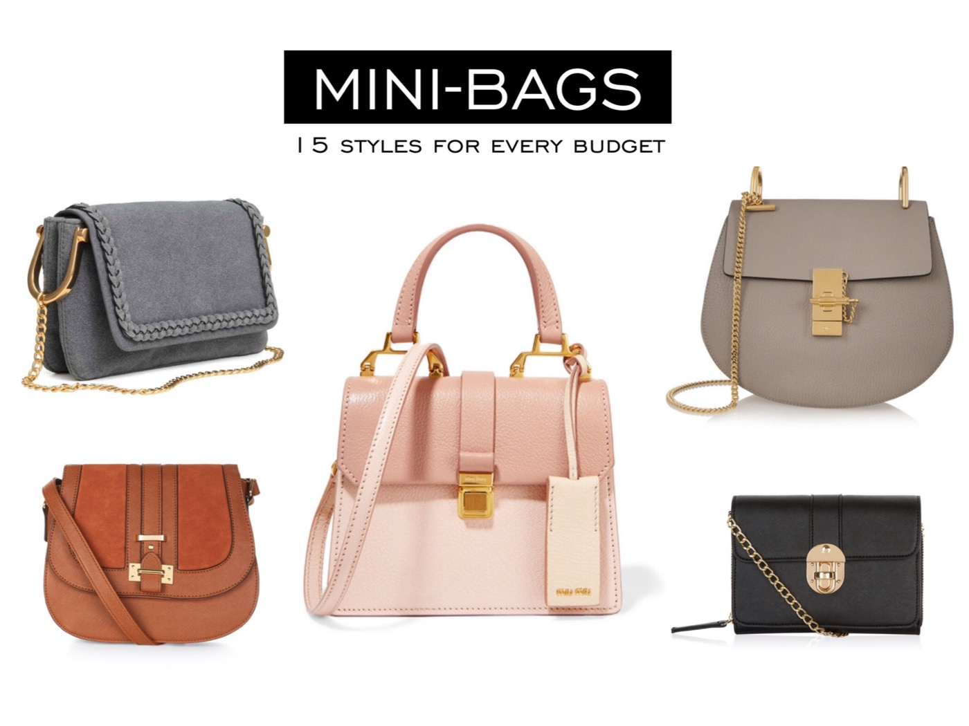 15 mini-bags for every budget