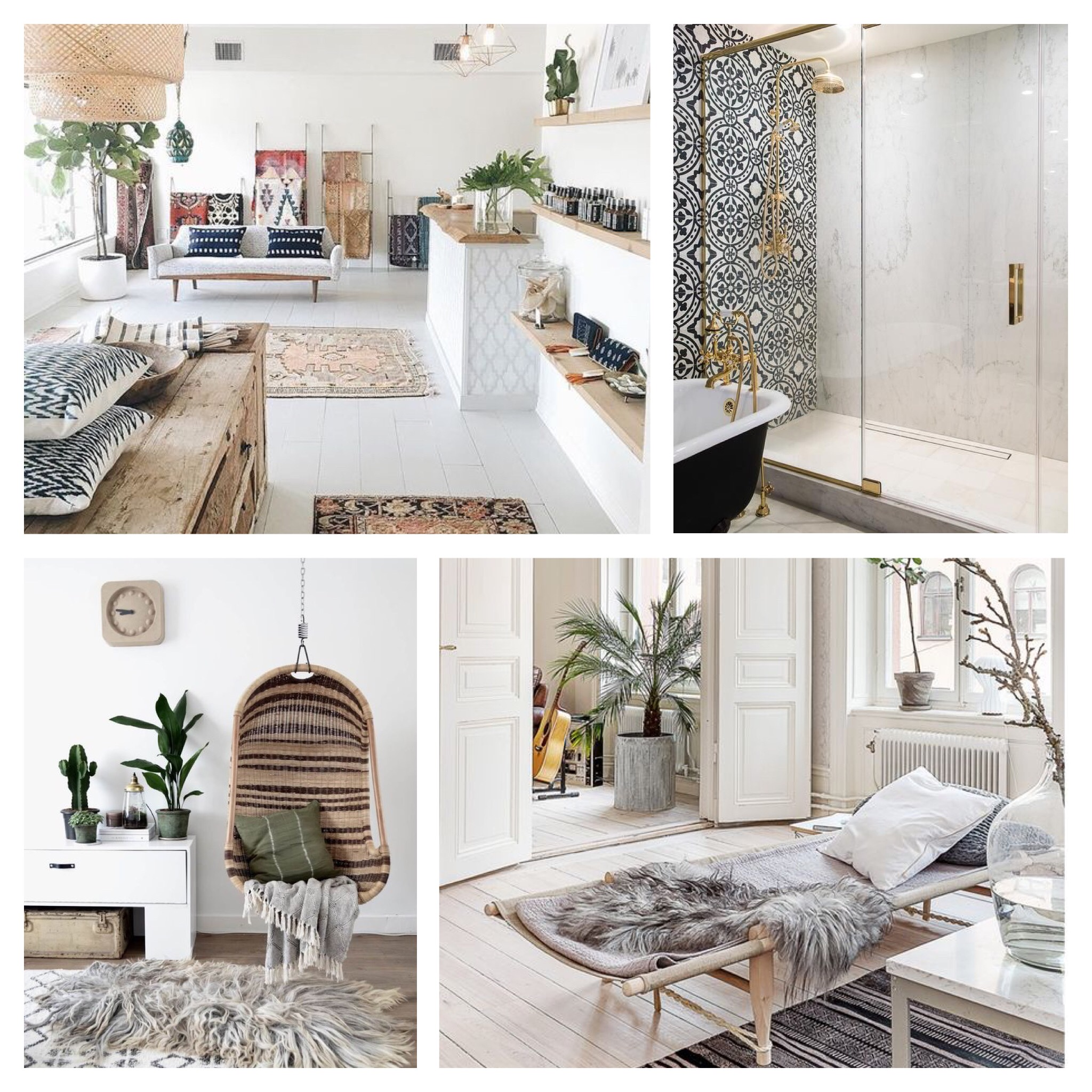 Inspirations for a neutral and bright home