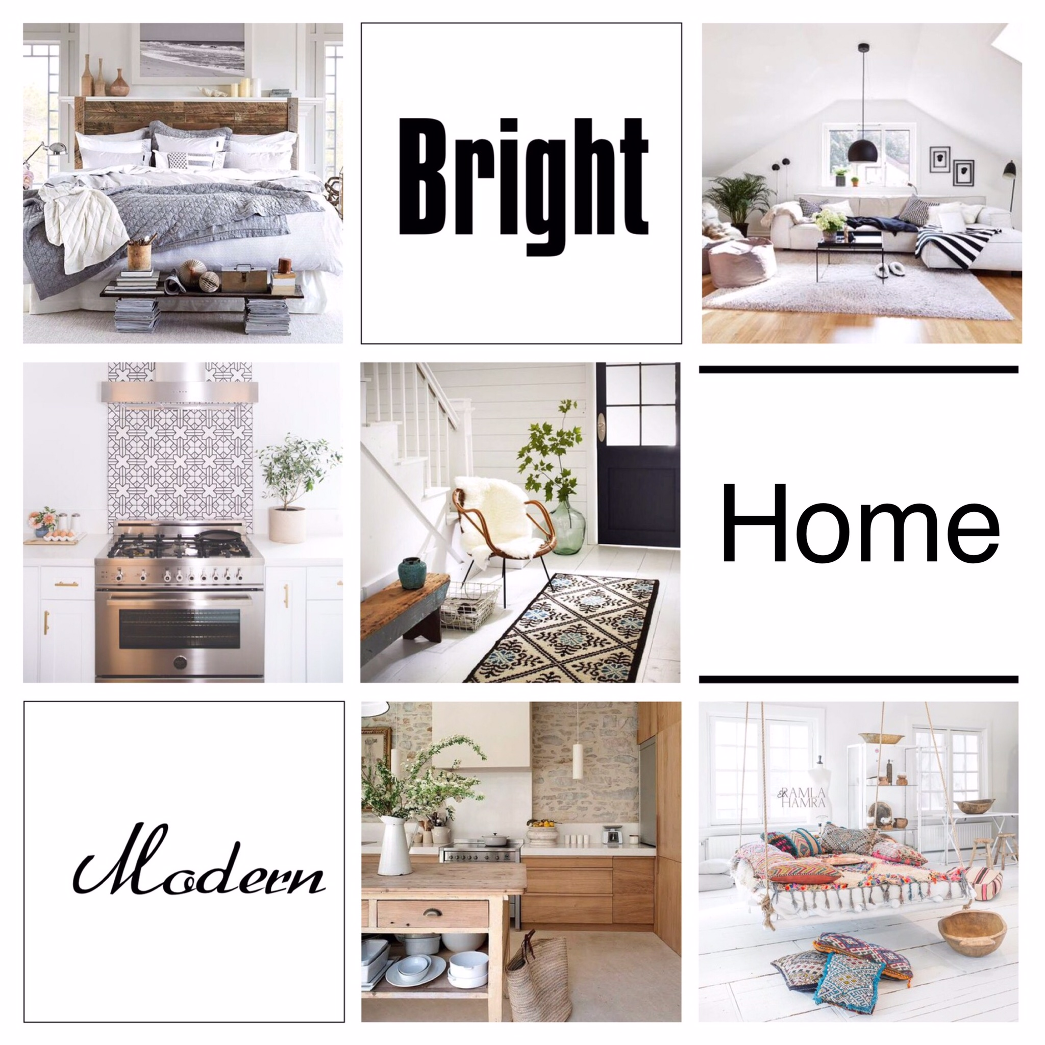 How to create a bright and modern home