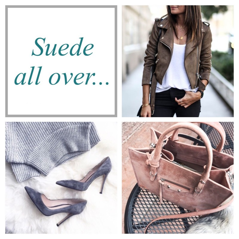 How to wear suede this fall