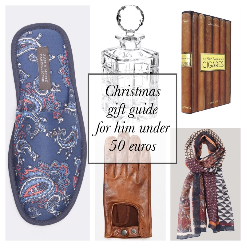 Christmas gift guide for him under 50 euros