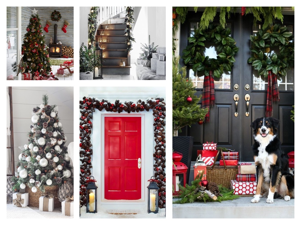 Red decor inspirations for Christmas