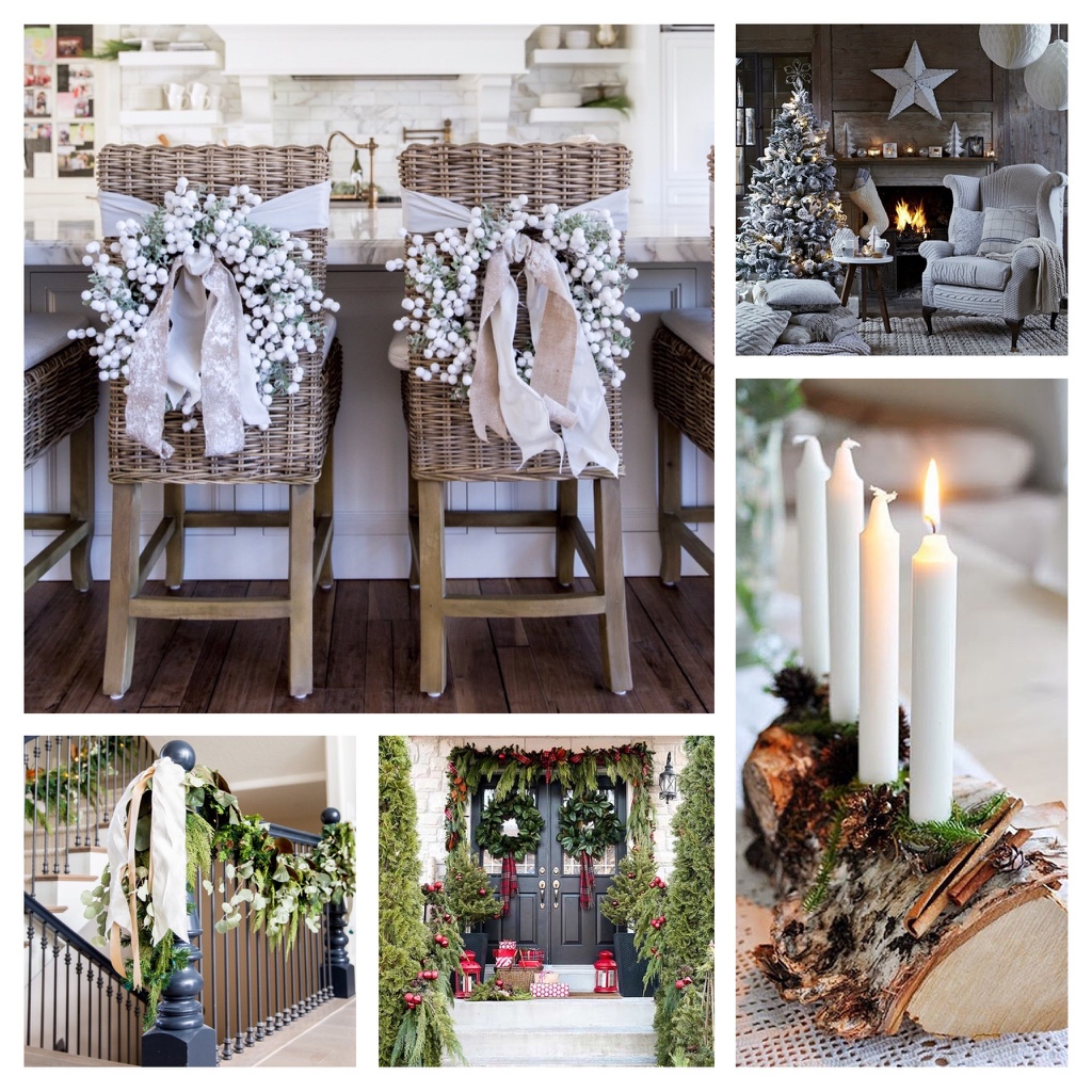 Soft decor inspirations for Christmas