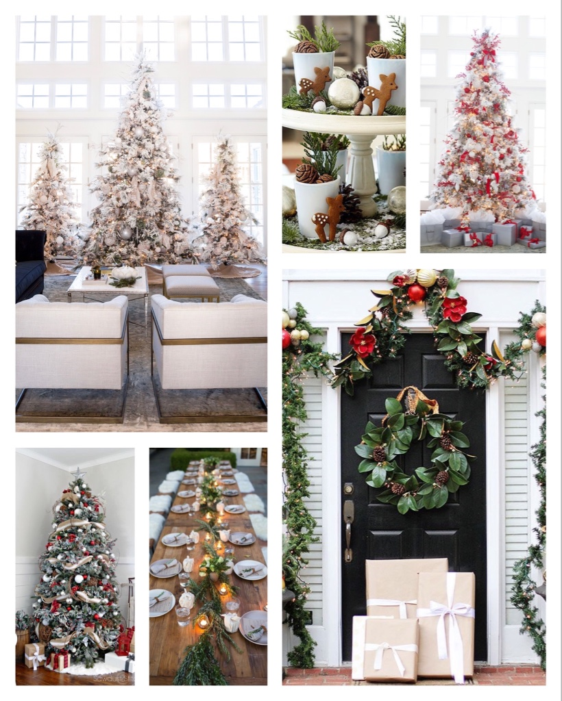 White decor inspirations for Christmas