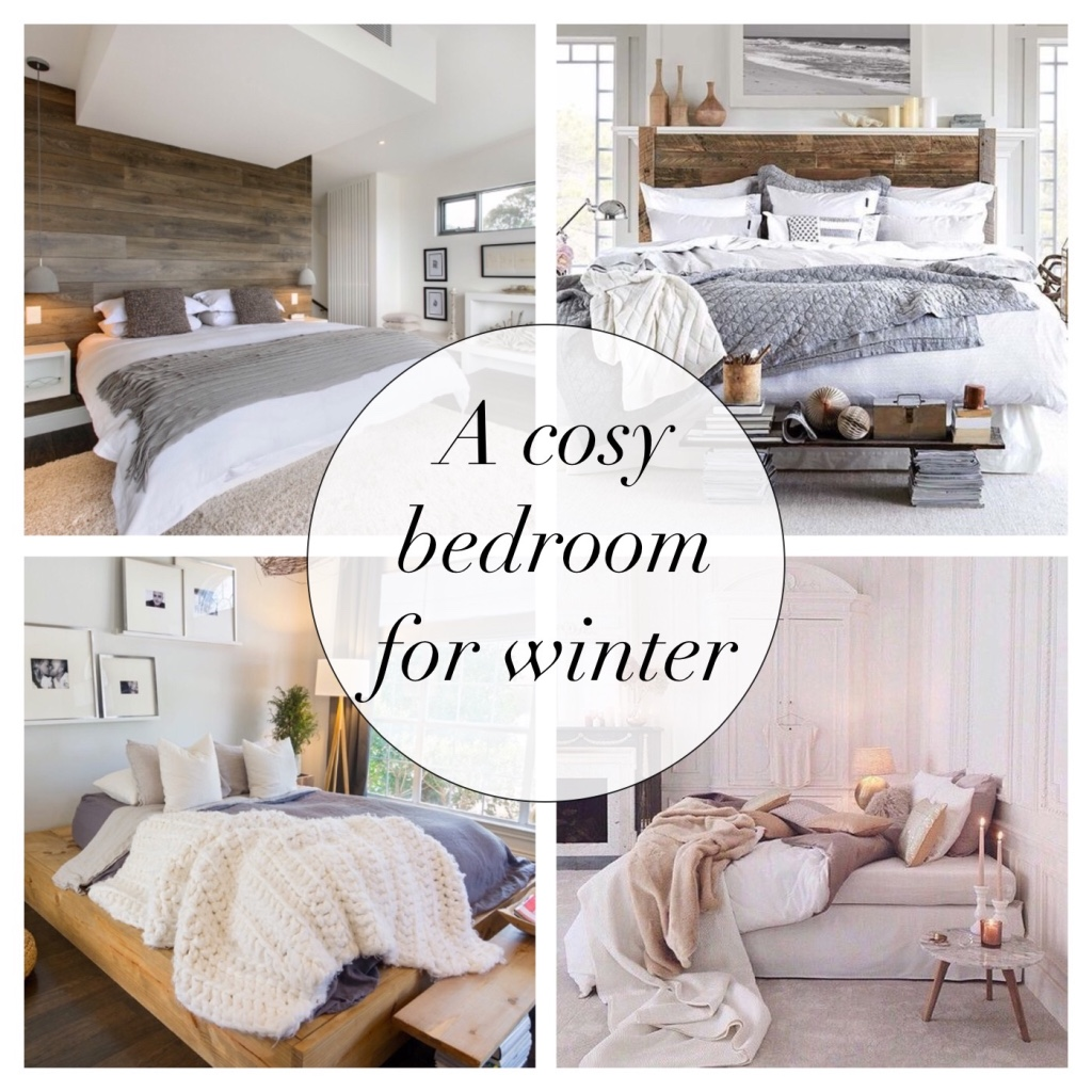 A cosy bedroom for winter