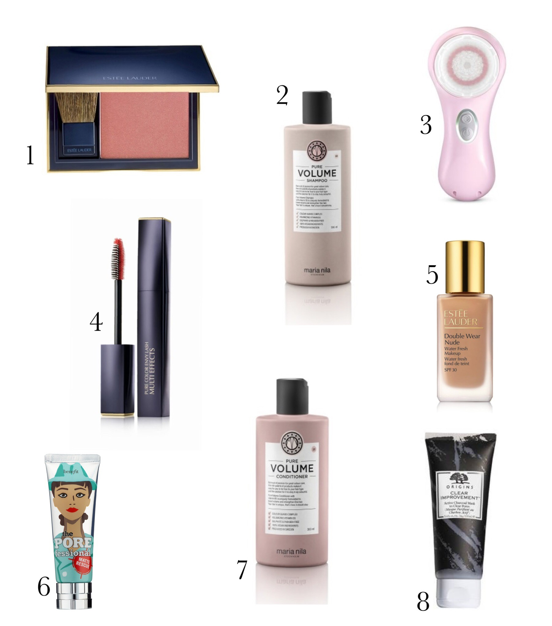 Links to purchase my favorite beauty products