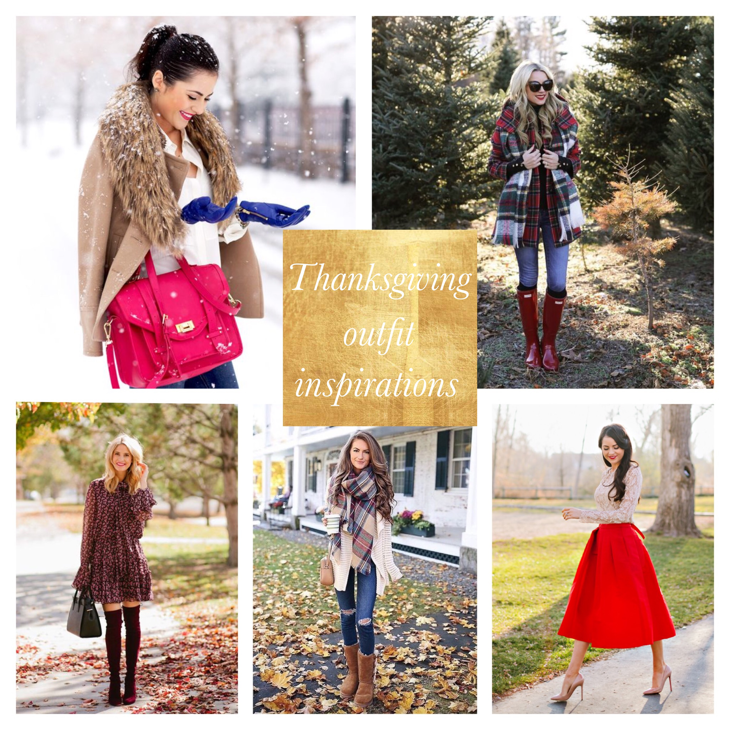 Thanksgiving outfit inspirations
