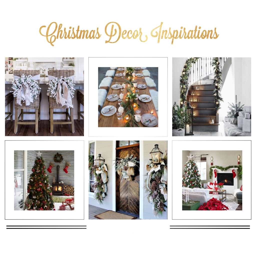 Christmas Decor Inspirations