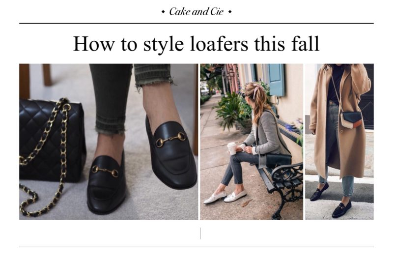 How to wear loafers this fall